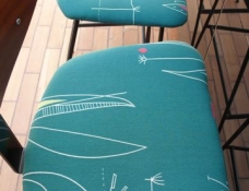 CHAIRS: 1950's Kandya Frank Guille Stools